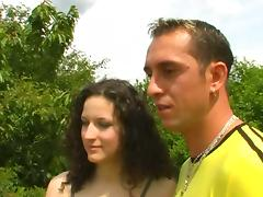 Hot Couple In An Outdoor Hardcore Fucking tube porn video