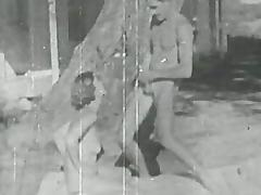 Vintage sex outdoor fun