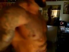 Eddie is swinging his massive meat