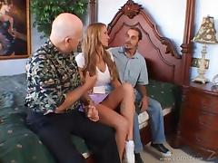 Men Watched A Housewife Gets Fucked By A Stranger tube porn video