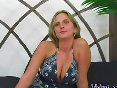Amber reaches an orgasm