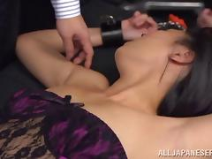 Funny Asian Chick With Natural Tits Gets Her Pussy Fingered tube porn video