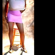Busty Crossdresser in Pink & White tube porn video