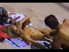 juvenile pair having sex at the beach part 1