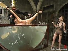 Bondage, BDSM, Bondage, Brunette, MILF, Slave