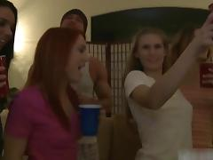 Dani Jensen and Kasey Chase fuck in sex party