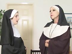 Church, BDSM, Black, Ebony, Nun, Punishment