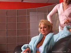 Mature Blonde Hottie In A Hardocre Pussy Licking And Fingering