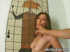 Naughty Roxy Jezel Gives A Big Cock Hardcore Deepthroat Blowjob And Face Fucking