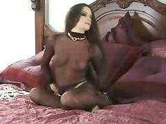 Bound, BDSM, Bed, Bondage, Bound, Brunette