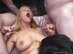 Big Tits, Big Tits, Gangbang, Handjob, Mature, MILF