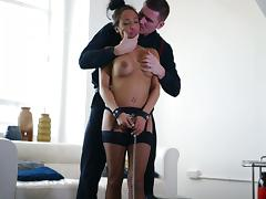 Hot And Nasty Romana Ryder Gets Drilled Hardcore In Bondage tube porn video
