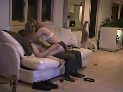 My wife getting her arse kissed and screwed