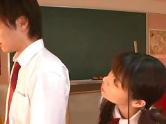 Saki Yuzumoto Hot Japanese schoolgirl has sex