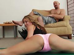 Blond milf Sheena Shaw gets her bumhole fucked deep tube porn video