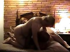 A pair of bisex excited MILFS share a darksome ramrod