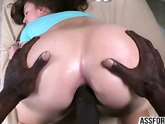 Beautiful girl Maddy gets her ass fucked