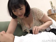 Tokyo, Adorable, Asian, Blowjob, Bra, Couple