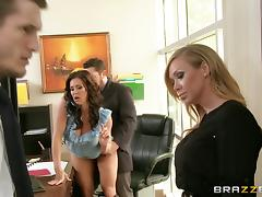 Kendra Lust And Phoenix Marie In A Wild Hardcore Threesome Banging