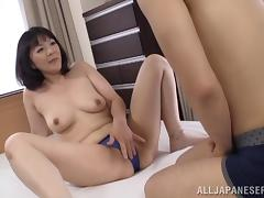 Attractive Japanese Diva Hitomi Enjou Gets Amazing And Rear Banging
