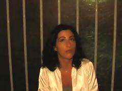 Silvia Bernardi pillada en la calle