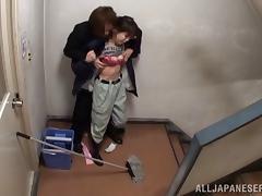 skinny japanese slut get nailed hardcore in public