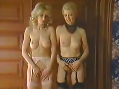 Vintage Threesome fantasy tube porn video