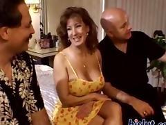 Two long boners for the slut