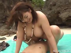 Chubby asian hottie with big tits Mizuki Ann in a hot group sex tube porn video