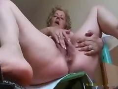 Granny Big Tits, Big Tits, Boobs, Hairy, Masturbation, Mature