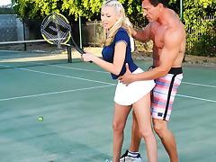 Katie Summers & Marco Banderas in Naughty Athletics tube porn video
