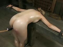 Blondi slaveCaned porn tube video