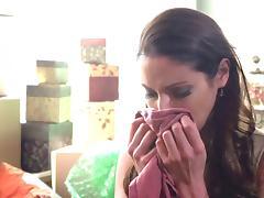 Layla Rose sucks Samantha Ryan's pussy in lesbian fuck action tube porn video