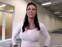Fantastic rear banging with busty brunette mom Kendra Lust porn tube video