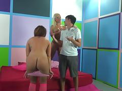 Naughty group banging in a hot hardcore fuck adventrue