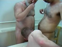 Horny Hairy Bear Seducing Young Cub porn tube video