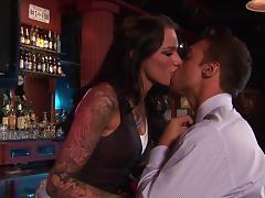 Bar, Banging, Bar, Big Tits, Blowjob, Brunette