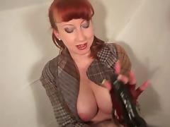 British, British, Masturbation, Mature, MILF, Redhead