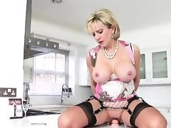 All, Blonde, British, Dildo, Lingerie, Masturbation