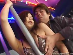 Bar, Asian, Bar, Big Tits, Boobs, Boots