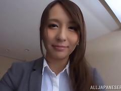 stunning japanese cowgirl in pantyhose fucked missionary