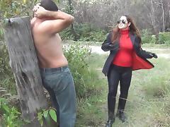 Mistress getting a new Slave