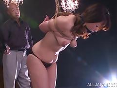 Rough bondage porn with japanese porn sweetheart Nao Katoh