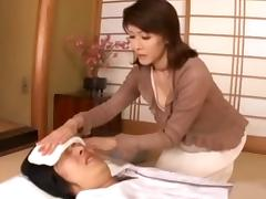 Mother, Asian, Japanese, Mature, Mom, Nurse