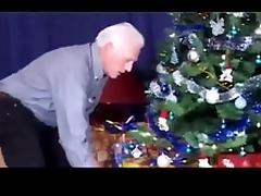 Christmas - grandpa and grand daughter PART1 tube porn video