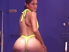 Sexy milfs pose and provoke with their bodies