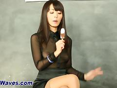Asian bukkake whore sucks porn tube video