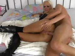 Boots, Anal, Assfucking, Blonde, Boots, German