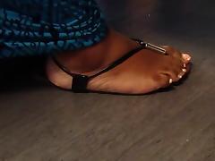 Sexy Fat BBW Feet In Sandals