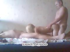 old man to fuck his blonde wife tube porn video